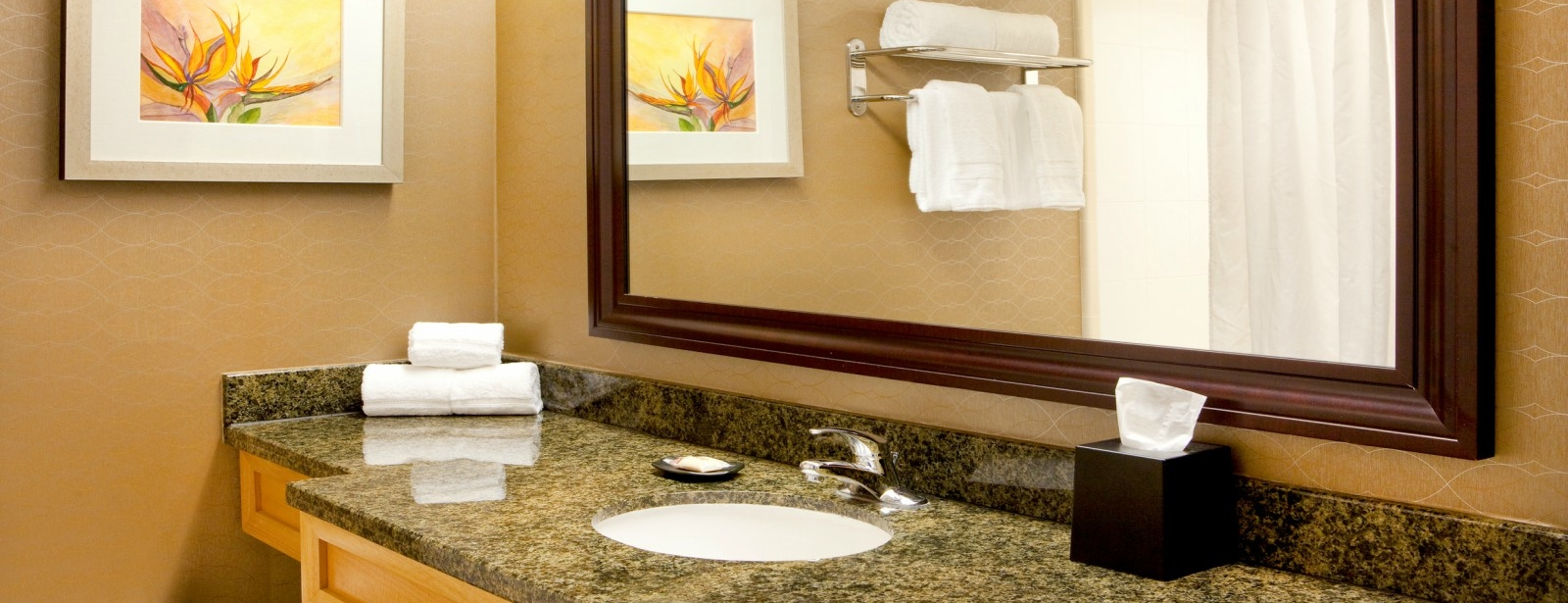 Guest Bathroom | Sheraton Myrtle Beach Convention Center Hotel